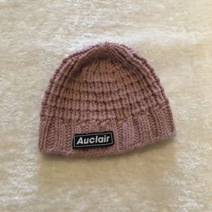 Auclair Pink Knit Toque Hat